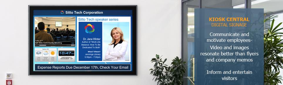 Corporate Digital Signgage