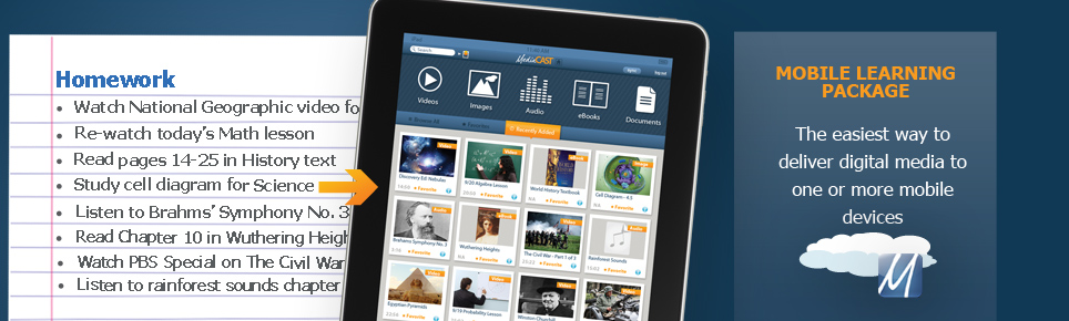 Mobile Learning iPad/Android App