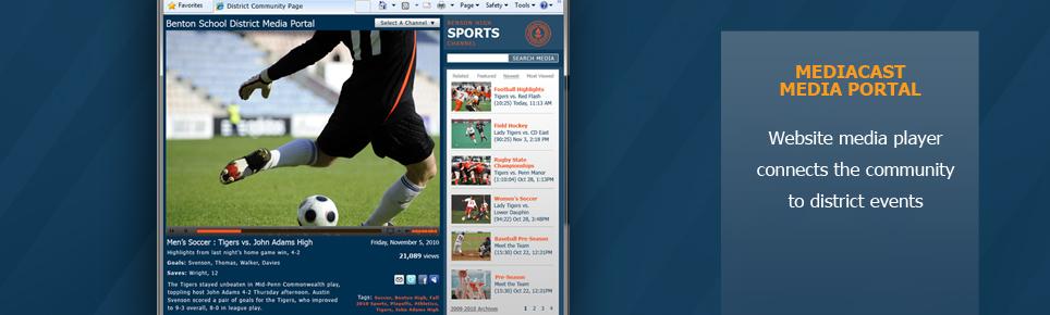 Media Portal Website K-12
